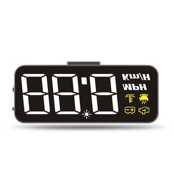 цена на Universal GPS HUD Projector On Windshield Head Up Display Information Display Module GPS Speedometer Hud Projector Obd 2 Display
