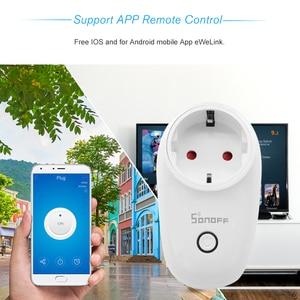 Image 4 - 3Pcs/Lot Sonoff S26 WiFi Smart Socket TypeF EU Wireless Plug Power Sockets Smart Home Switch For Alexa Google Assistant IFTTT