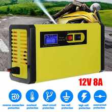 100W 12V 8A 100-240V Intelligent Battery Charger Pulse-Repai
