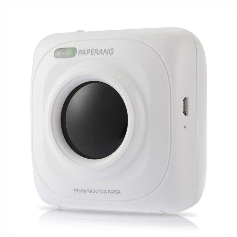 PAPERANG P1 Portable Bluetooth 4.0 Imprimante Thermique Imprimante Photo Téléphone Sans Fil Connexion Imprimante 1000 mah Au Lithium-Ion Pâte