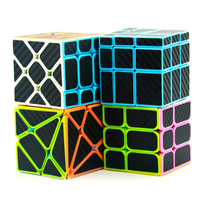 Lefun Magic Cube Gift Pack(4pcs/set,Including Mirror Block,Windmill cube,Fisher cube,Axis cube)Toys For Kids