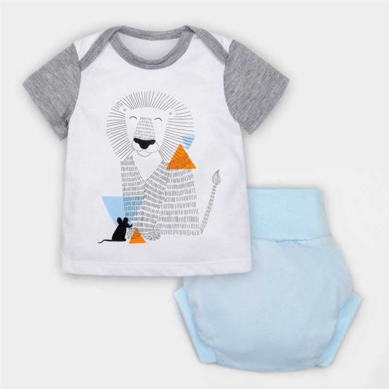 Set T-shirt and briefs under diapers Crumb I Safari growth 3 9 Mo bodysuit sleeveless halter crumb i fruit 3 12 mo