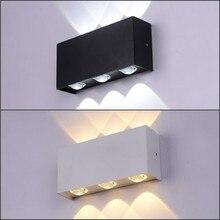 NEW LED Wall Light 6W Waterproof Die-cast Aluminum IP65 Modern Lamp