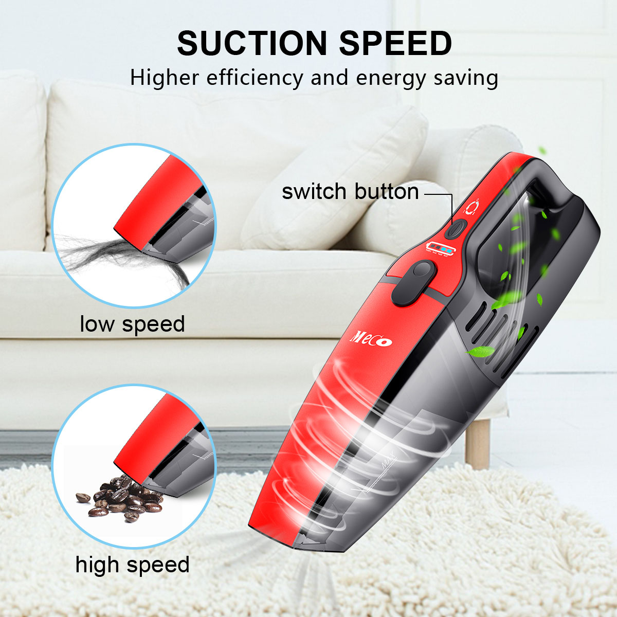 Powerful Wireless Handheld Cordless Rechargeable Car Vacuum Cleaner Wet Dry New Handheld Home Auto Car Electronic Vacuum CleanerPowerful Wireless Handheld Cordless Rechargeable Car Vacuum Cleaner Wet Dry New Handheld Home Auto Car Electronic Vacuum Cleaner