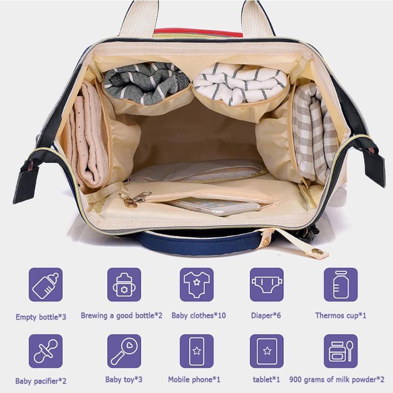 Diaper Bag Pregnant Women Mummy Travel Nappy Bag Large Capacity Waterproof Zipper Maternity Nappy Bag Nursing Diaper Bag Pregnant Women Mummy Travel Nappy Bag Large Capacity Waterproof Zipper Maternity Nappy Bag Nursing Bag Baby Organizer