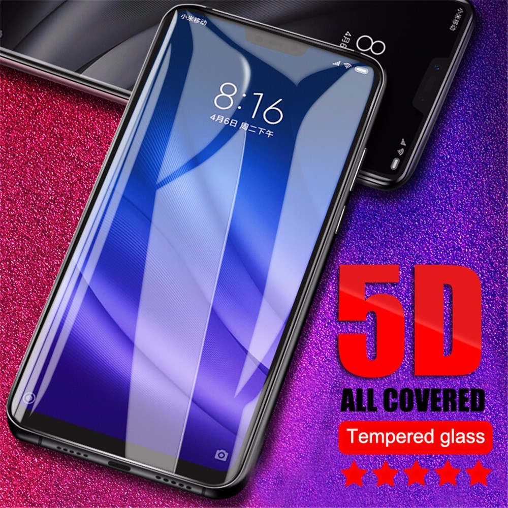 New 5D Tempered Glass For Xiaomi Redmi Note 6 5 Pro Note 5A Screen Protector For Redmi 5 Plus 5A 4X 6A 6 Pro S2 Glass Film Cover in Phone Screen Protectors from Cellphones Telecommunications