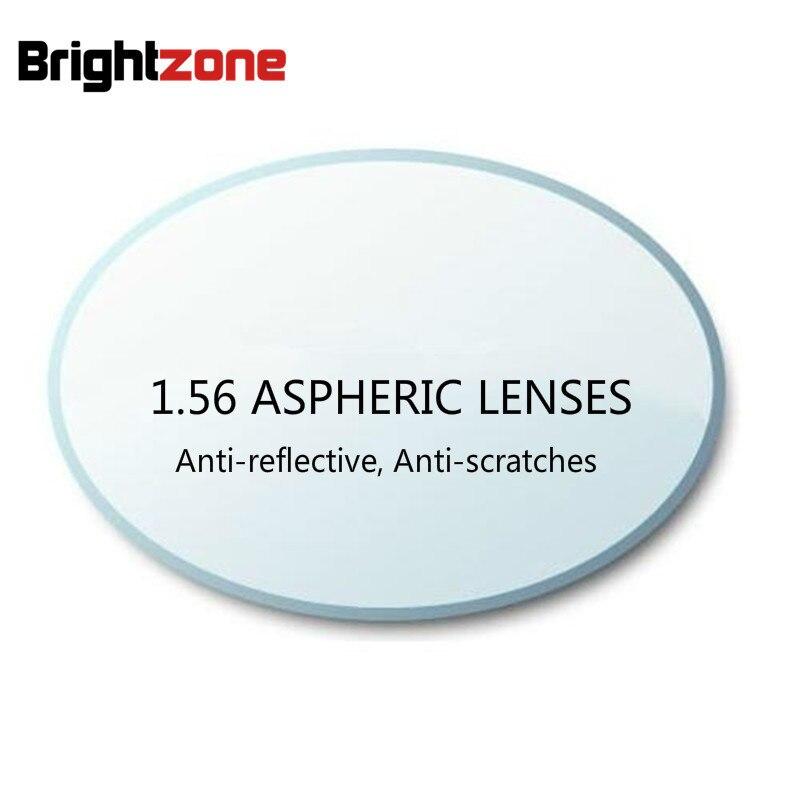 1.56 Asférica HC AR Anti-scracthes CR-39 Revestimento Verde Lentes de Resina Óculos de Grau Para correção de Miopia/hipermetropia/presbiopia