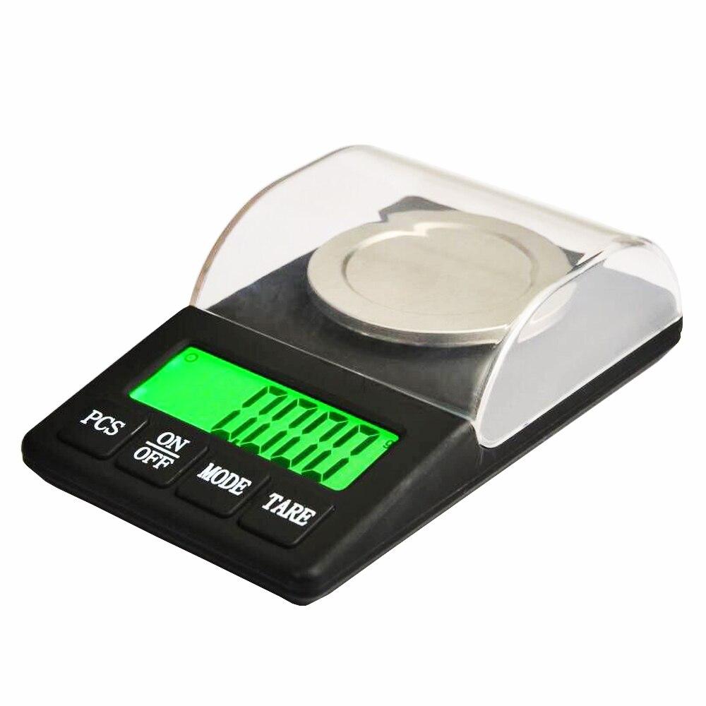 300G 0 001G Diamond Jewelry Scale Electronic Balance Black