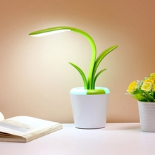 купить Usb Led Reading Light Table Lamp Eye Care Desk Lamp Three Brightness Level Flexible Arm Light For Studying Working Bedroom Lam дешево