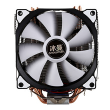 SNOWMAN CPU Cooler Master 5 Direct Contact Heatpipes freeze Tower Cooling System CPU Cooling Double Fan with PWM 2 Fans