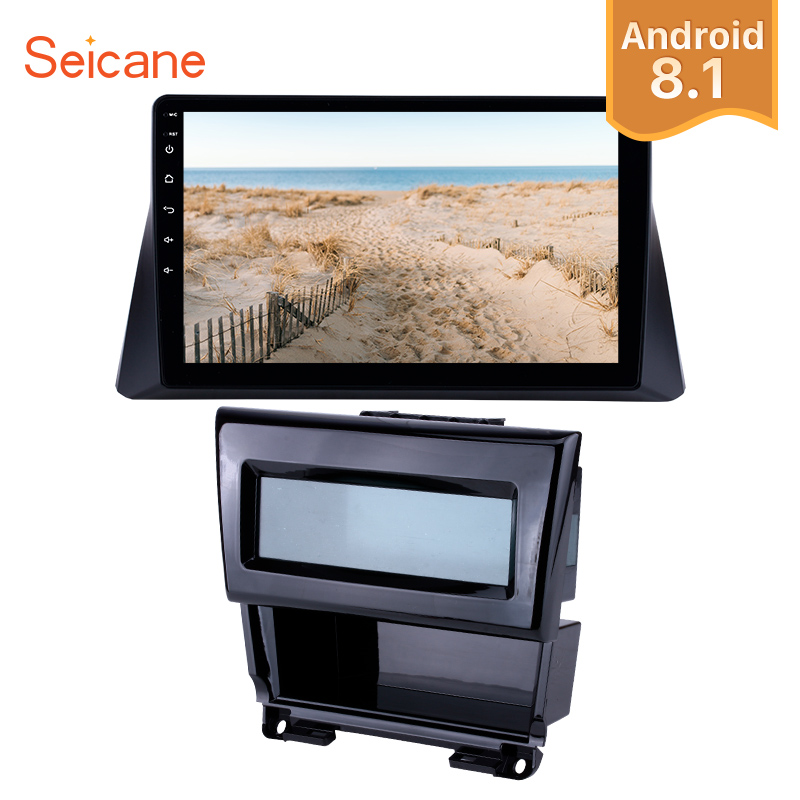Seicane 10.1 inch Android 8.1 Car Radio GPS Head Unit For 2008 2009 2010 2011 2012 Honda accord 8 Wifi Multimedia Player
