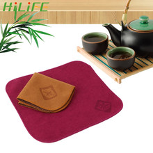 HILIFE Teaware Linen Tablemat 주방 용품 티 타올 테이블 냅킨 가제 티 도구(China)