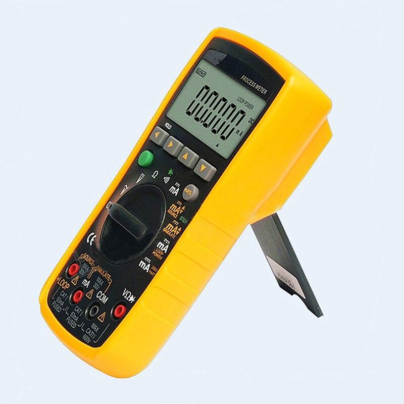 VC77 Digital Multimeter 2 In 1 4-20MA Signal Output Multimeter Process Signal Source DurableVC77 Digital Multimeter 2 In 1 4-20MA Signal Output Multimeter Process Signal Source Durable
