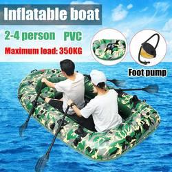 Спортивные Фишман 2/3/4 человек PVC толстые надувные лодки рыбалка Надувные Байдарки надувная лодка каяке воздушный Плот лодки