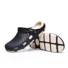 05a3328d45b74 Nowe letnie sandały męskie buty w stylu casual klapki drewniaki światło  oddychające kapcie plażowe Men woda