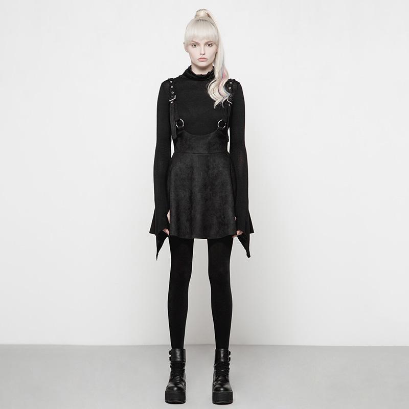 Punk Rave Women's Steampunk Highwaist Skirt OYQ 016LQF