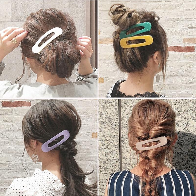 Scrub BB clip water drop clip hair clip side clip bangs hairpin card