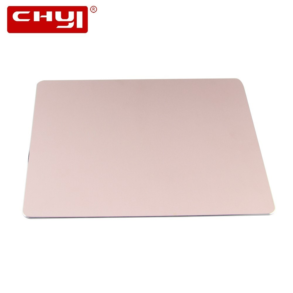 CHYI Metal Rose Gold Mouse Pad Slim Gaming <font><b>Mousepad</b></font> Computer Ultra Thin Mouse Mat With Non-Slip Rubber Bottom For <font><b>Xiaomi</b></font> Laptop image