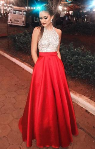 Women Lady Lace Evening Party Ball Prom Gown Formal Cocktail Wedding Long Skirts