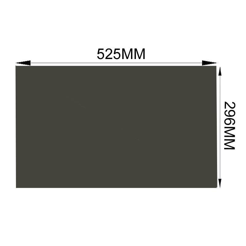 """1 Stück Neue 23,6 """"90 Grad 16:9 525*296mm Polarisierte Polarisierende Lcd Film Für Lcd Led Screen üBereinstimmung In Farbe"""
