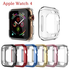 Watch accessories for Apple Watch Case Series 4 3 2 1 Soft Slim TPU Screen Protector All-around Ultra-thin Cover for iWatch 42/4