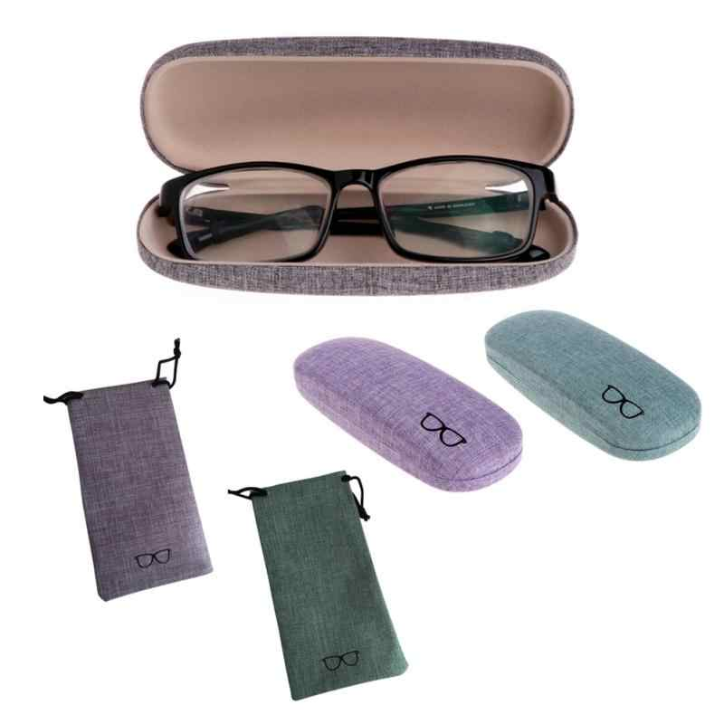 Men's Glasses Steady 6 Colors Available Spectacle Cases 1 Pc Protable Light Triangular Fold Glasses Case Eyeglass Sunglasses Protector Hard Box Soft And Antislippery