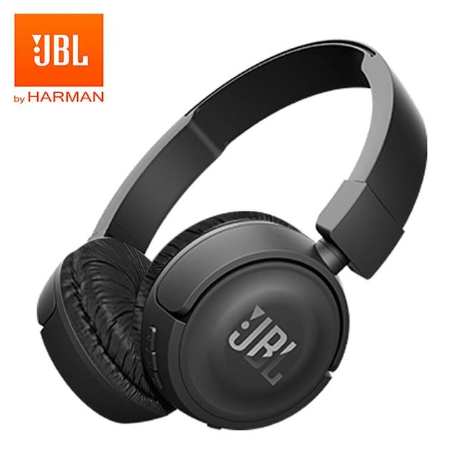 JBL T450BT Wireless Bluetooth Headphones Foldable On Ear Headset Pure Bass  Music Earphones Hands-free with Mic 9e695c5f59