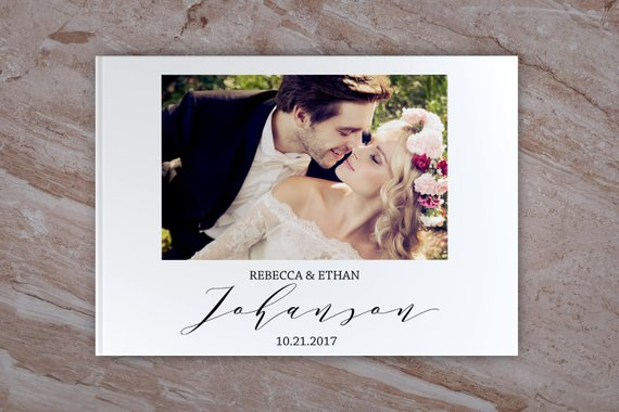 Personalized White Wedding Guest Book With Name&Date,Custom Bride Grooms Wedding Photo Guestbook Alternatives,Wedding MemoryPersonalized White Wedding Guest Book With Name&Date,Custom Bride Grooms Wedding Photo Guestbook Alternatives,Wedding Memory