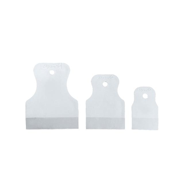 Набор шпателей MATRIX 858275 40-60-80 мм, белая резина, 3 шт