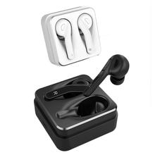 T-88 TWS Mini Earbud Bluetooth Wireless 5.0 Earphone Stereo Headset Headphones With Microphone Charging Box For Smartphone