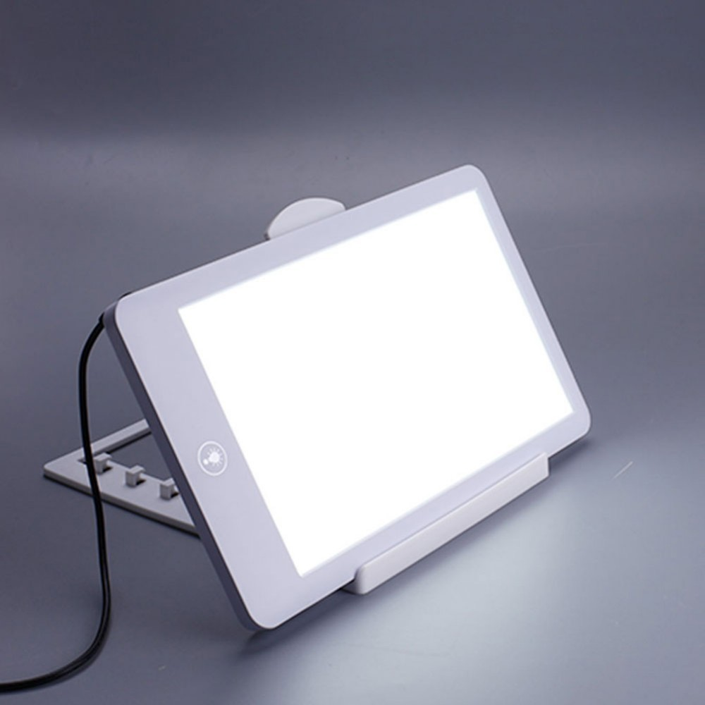 SAD Therapy Lamp 3 Modes Seasonal Affective Disorder Phototherapy 10000 Lux 6500K Simulating Natural Daylight SAD Therapy Light