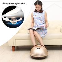 Foot Massage SPA Electric 3D Heating Foot Massager Shiatsu Kneading Air Pressure Infrared Multi acupoint Wheel Movement Massage