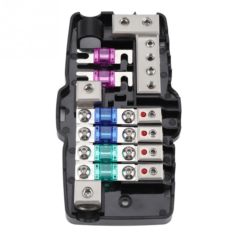 Car Audio Stereo Anl Blade Fuse Holder Distribution Blocks