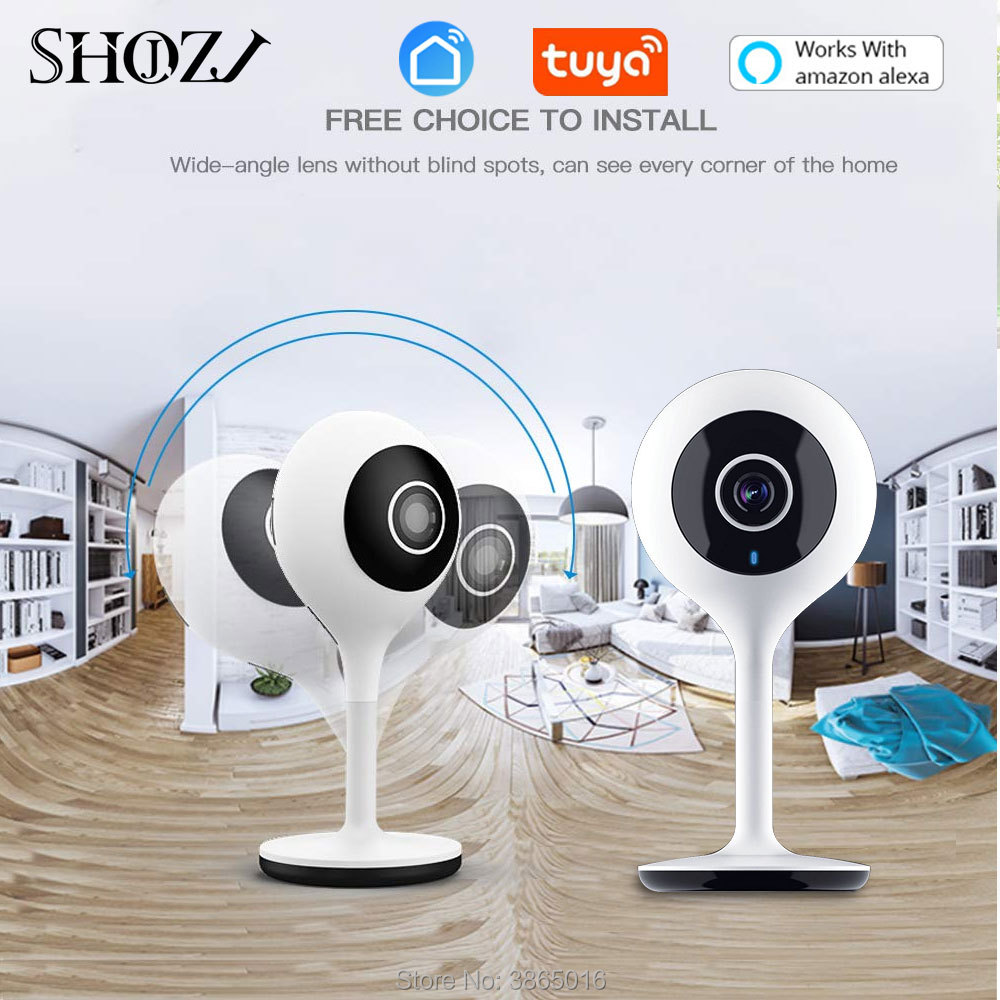 Alexa Echo Baby Monitor Portable WiFi IP Camera smart life app Wireless Camera Audio Video Surveillance Home Security Camera