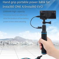 STARTRC New Insta360 ONE X/EVO Handheld 2 in 1 Charging Selfie Stick
