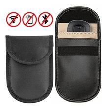Автомобильный ключ сигнала блокатор RFID NFC Щит чехол без ключа вход Fob Защита телефона сумка