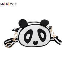 c33ba355dbed Super MIni Cute Panda Design Children Handbag Leather Shoulder Bag Kids  Girls Crossbody Bags(China