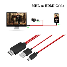 1080P Micro USB 11pin to HDMI Cable Adapter Converter for Android Samsung s3 s4 s5  note2 note3 note4 1.8M MHL Cellphone lcd screen bezel middle frame separator frame remover for sumsung note2 note3 s3 s4 s5 i9600 9500 9300
