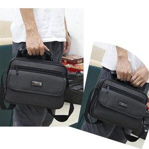 """Image 5 - גברים תיק מחשב נייד עבור Hp Lenovo Dell Ipad Acer 11 """"12"""" 13 """"14"""" 10 """"9"""" משרד עסקי תיק נשים כתף שקיות עמיד למים אוקספורד"""