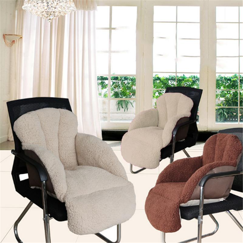 Épaississement en peluche coussin chaud peut être utilisé comme coussin de bureau Tatami coussin de sol et coussin de chaise d'étudiant