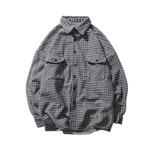 2018 New Long-Sleeved Quality men Shirt Thickness camisa hombre streetwear Dress MenS Business Casual Cotton Clothes Big Size