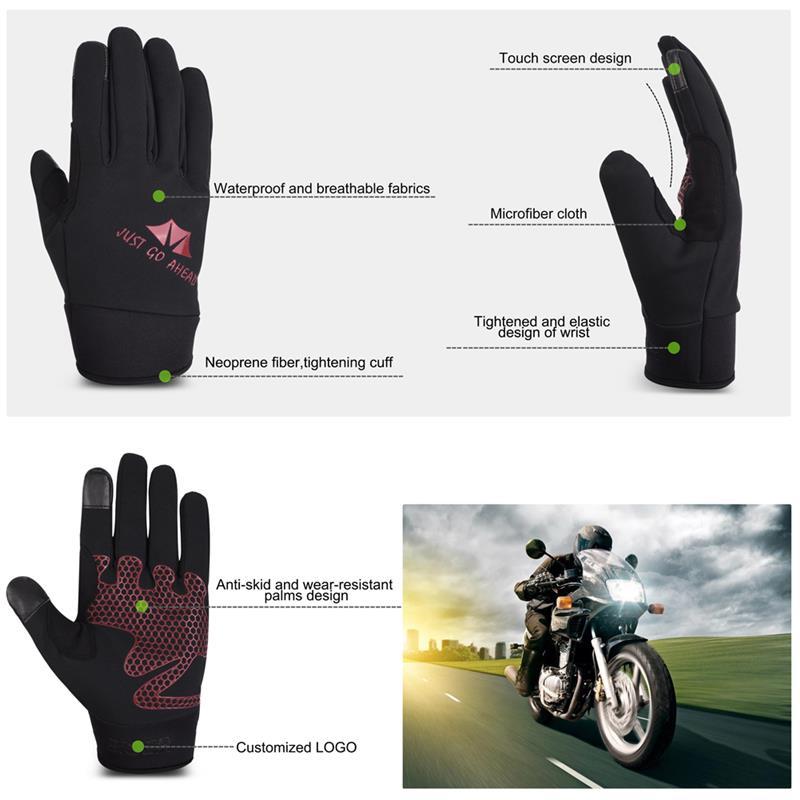 Apparel Accessories Ski Gloves And Mitten Winter Unisex Gloves Men Women Windproof Waterproof Mittens Anti-slip Touchscreen Cycling Handschoenen