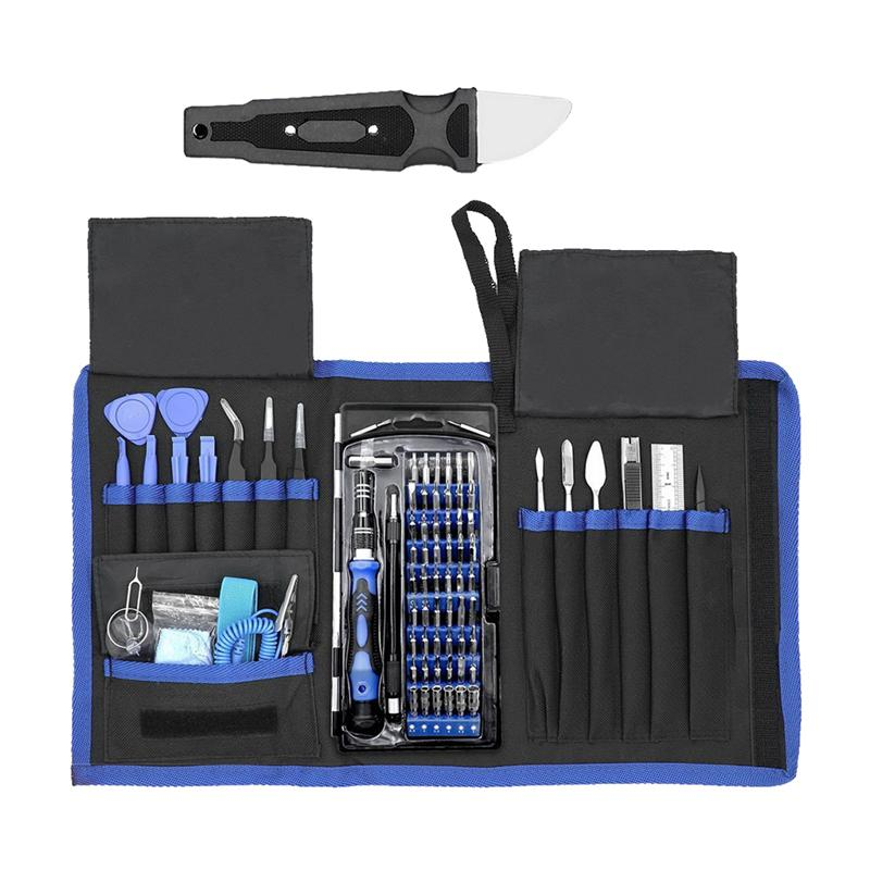 80pcs Set Universal Electronics Repair Opening Tools Kit Precision Screwdriver Set For Phone Tablet PC Camera Repairing in Hand Tool Sets from Tools