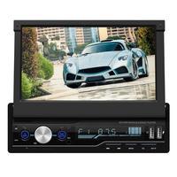 T100 7 Inch Car Stereo MP5 Player HD Touch Screen RDS FM AM Radio Bluetooth USB AUX Head Unit Car Backup Monitor