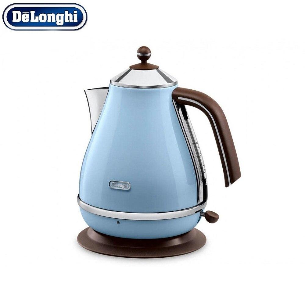 лучшая цена Electric Kettles Delonghi KBOV 2001 AZ home kitchen appliances kettle make tea