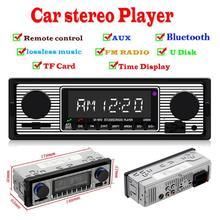 VODOOL 5513 1 Din In-Dash 12 В автомобильное радио автомобильный радиоприемник с Bluetooth стерео MP3 плеер fm-радио USB TF карта AUX вход Авто аудио плеер