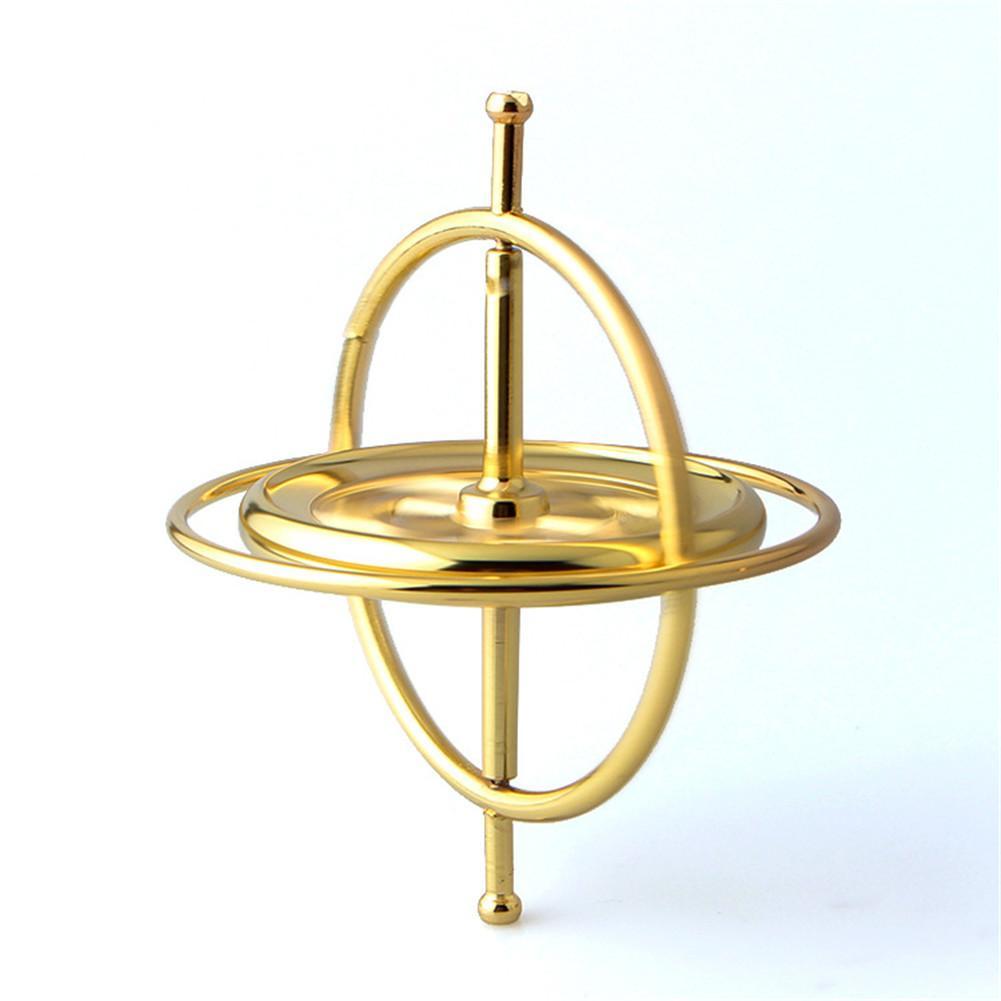 Brinquedo de aprendizagem educacional para crianças presente científico e educacional giroscópio metal pressão aliviar brinquedo