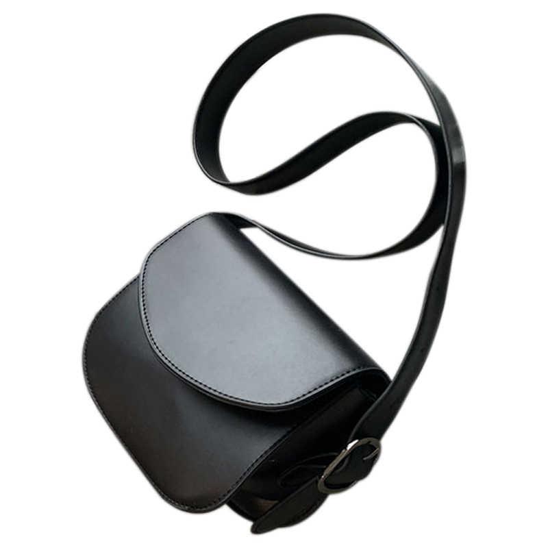 Pack selle femme nouveau haut débit Oblique sacoche demi-cercle paquet rétro Joker sac à bandoulière unique
