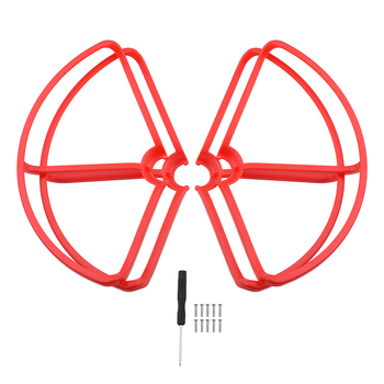 4 unids/set protector de Hélice para xiao-mi mi Drone recambios de cuadrirrotor RC accesorios xiao-mi mi Quadcopter 1080 P/4 K Cámara Dron