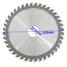 """115/125mm 40T Circular Saw Blade Wood Cutting Disc For Metal Chipboard Cutter 4/5"""" Multitool Power Tool For Makita Angle Grinder"""